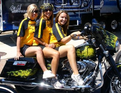 The Geico Girls - Ohio Bike Week 2009 - Flash Productions, LLC
